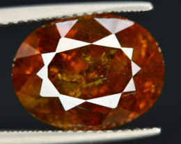 Rare 8.20 Ct Natural Sphalerite Great Dispersion Spain