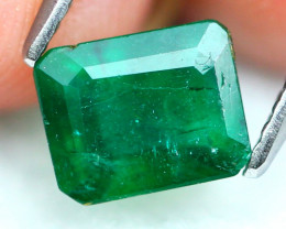 Emerald 1.18Ct Natural Zambian Imperial Green Emerald 19AF851