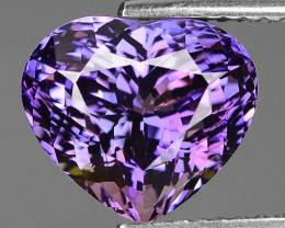 3.94 Carat Unheated World Very Rare Purple Pink Color Tanzanite Gemstone