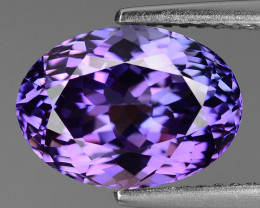 4.70 Carat Unheated World Very Rare Purple Pink Color Tanzanite Gemstone