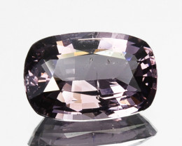 1.46 Cts Natural Silver Grey Spinel Cushion Cut Srilanka Gem