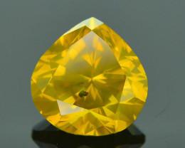 Top Grade 1.01 ct yellow Diamond SKU-16
