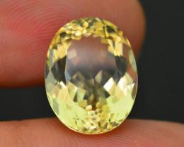 Rare 7.83 ct Bright Yellow Labradorite SKU-1