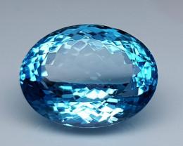 21.85 Crt  Blue Topaz  Natural Gemstones JI46