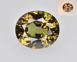 Natural Alexandrite 8.39 Cts , GIA Certified