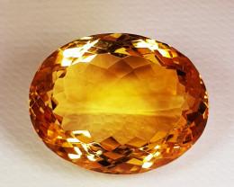 17.98ct Top Quality Gem Golden Whisky Color Natural Citrine