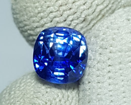 CERTIFIED 2.24 CTS TOP QUALITY NATURAL ROYAL BLUE SAPPHIRE SRI LANKA
