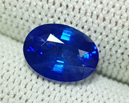 CERTIFIED 2.05 CTS NATURAL BEAUTIFUL ROYAL BLUE SAPPHIRE SRI LANKA