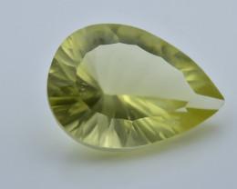 9.21 Crt Lemon Quartz Faceted Gemstone (R50)