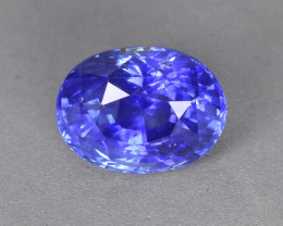3.13 Cts Amazing Beautiful Color Natural Unheat Blue Sapphire