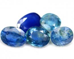 Sapphire 7.01Ct Natural Blue Sapphire Lot A2113