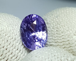 NO HEAT CERTIFIED 2.06 CTS NATURAL STUNNING VIOLET SAPPHIRE SRI LANKA