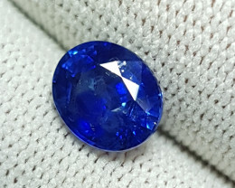 CERTIFIED 2.12 CTS NATURAL STUNNING ROYAL BLUE SAPPHIRE SRI LANKA