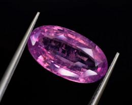Sapphire  Padparascha ( Orange Pink ) 6.49 cts