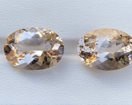 22.90 Carats Morganite Gemstones