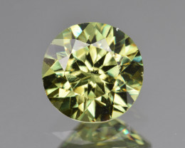 Natural Demantoid Garnet 2.19 Cts, Full Sparkle Faceted Gemstone