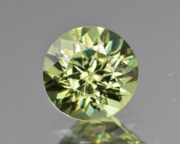 Natural Demantoid Garnet 2.20 Cts, Full Sparkle Faceted Gemstone