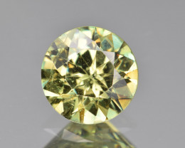 Natural Demantoid Garnet 2.23 Cts, Full Sparkle Faceted Gemstone