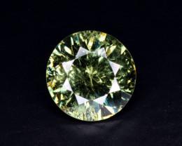 Natural Demantoid Garnet 2.89 Cts, Full Sparkle Faceted Gemstone