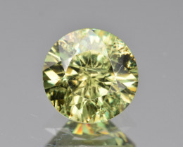 Natural Demantoid Garnet 2.89 Cts, Full Sparkle Faceted Gemstone