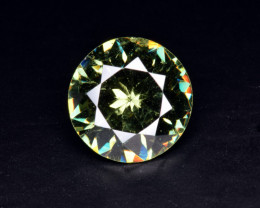 Natural Demantoid Garnet 2.95 Cts, Full Sparkle Faceted Gemstone