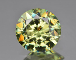 Natural Demantoid Garnet 2.95 Cts, Full Sparkle Faceted Gemstone