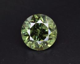 Natural Demantoid Garnet 3.31 Cts, Full Sparkle Faceted Gemstone