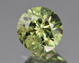 Natural Demantoid Garnet 3.31 Cts, Full Sparkle Faceted Gemstone