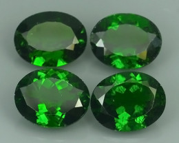 10.40 CTS MARVELOUS RARE NATURAL TOP GREEN- CHROME DIOPSIDE DAZZLING