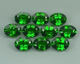 13.60 Cts Eye Catching Natural Rich Green Chrome Diopside