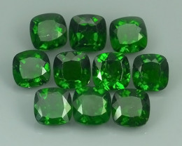 17.10 Cts Eye Catching Natural Rich Green Chrome Diopside