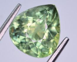 4.20 Ct Gorgeous Color Natural Apatite. T