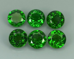 12.80 Cts Eye Catching Natural Rich Green Chrome Diopside