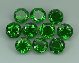 15.50 CTS MARVELOUS RARE NATURAL TOP GREEN- CHROME DIOPSIDE DAZZLING