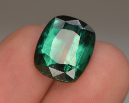 Top Color 7.65 ct Natural Green Color Tourmaline