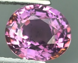 CERTIFIED 1.943 CTS AWESOME PINK SAPPHIRE UNHEATED FACETED GENUINE OVAL