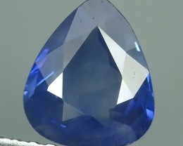 CERTIFIED 1.307 CTS EXCEPTIONAL NATURAL SAPPHIRE BLUE MADAGASCAR