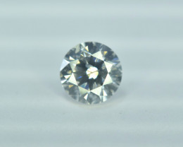 GIL Certified 0.80 cts Natural White Diamond