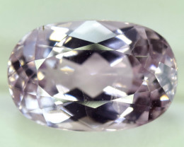 NR Auction 8.45 Carats Top Quality Pink Color Kunzite Gemstone
