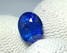 CERTIFIED 2.15 CTS NATURAL BEAUTIFUL ROYAL BLUE SAPPHIRE SRI LANKA