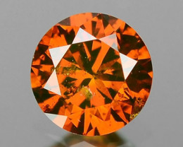 0.16 Cts SPARKLING RARE FANCY RED COLOR NATURAL DIAMOND