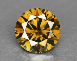 0.29 UNTREATED FANCY BROWNISH YELLOW NATURAL LOOSE DIAMOND