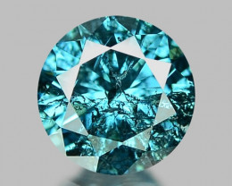 0.21 Cts FANCY BLUE COLOR NATURAL DIAMOND