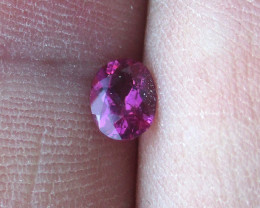 0.39cts Natural Pink Tourmaline Oval Cut