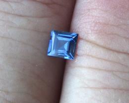 0.36cts Natural Australian Blue Sapphire Square Cut