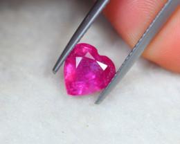 2.07Ct Ruby Heart Cut Lot LZ3315