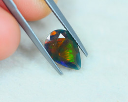 1.25ct Ethiopian Welo Solid Smoked Faceted Opal Lot LZ3320