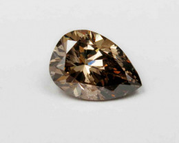 1.76ct Natural Fancy Brown Diamond HRD certified  SI2