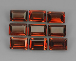 5.25 CTS  NATURAL GARNET WOW 9 PCS PARCEL