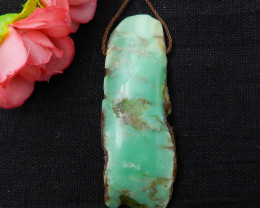76.5ct Hot Sale Natural Chrysoprase Pendant E251